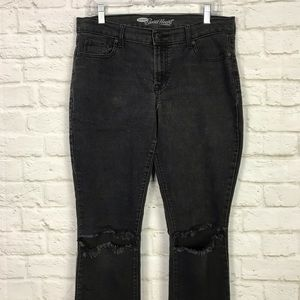 Old Navy Jeans - Old Navy The Sweetheart Destroyed Knee Skinny Jean